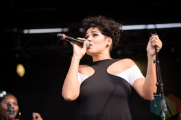 Zaki Ibrahim performing at the 2016 CBC Music Festival at Echo Beach in Toronto on May 28, 2016. (Photo: Janine Van Oostrom/Aesthetic Magazine)