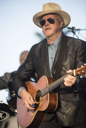 Robert Earl Keen performing on the Palomino Stage at the Stagecoach Festival on April 29, 2016. (Photo: Nate Watters/Goldenvoice)