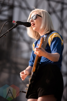 Alvvays performing at the 2016 CBC Music Festival at Echo Beach in Toronto on May 28, 2016. (Photo: Janine Van Oostrom/Aesthetic Magazine)
