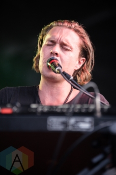 The Franklin Electric performing at the 2016 CBC Music Festival at Echo Beach in Toronto on May 28, 2016. (Photo: Janine Van Oostrom/Aesthetic Magazine)