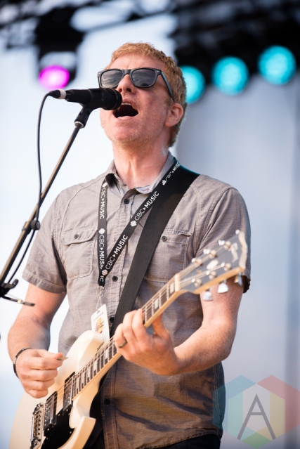 The New Pornographers performing at the 2016 CBC Music Festival at Echo Beach in Toronto on May 28, 2016. (Photo: Janine Van Oostrom/Aesthetic Magazine)