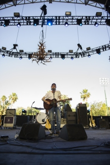 Lucero performing on the Palomino Stage at the Stagecoach Festival on April 29, 2016. (Photo: Nate Watters/Goldenvoice)