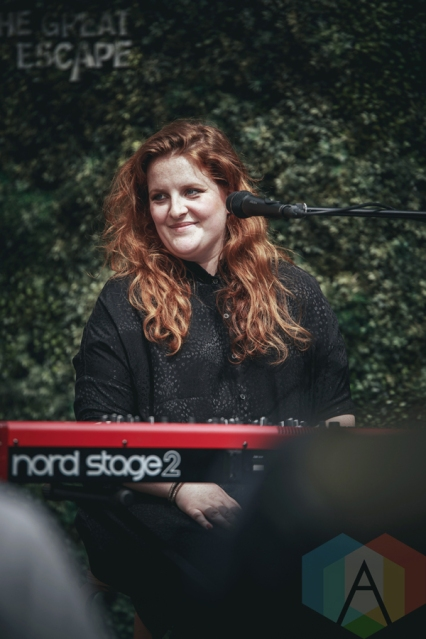 Frances performing at The Great Escape Music Festival on May 19, 2016. (Photo: Caitlin Molton/Aesthetic Magazine)