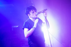 Gary Numan performing at Moogfest 2016 in Durham, North Carolina on May 19, 2016. (Photo: Camilo Fuentealba)