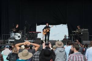 Gordi performing at Sasquatch 2016 at The Gorge Amphitheatre in George, Washington on May 27, 2016. (Photo: Matthew Lamb)