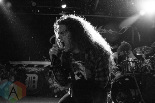 Miss May I performing at the Concord Music Hall in Chicago on May 19, 2016. (Photo: Rob Haberman/Aesthetic Magazine)