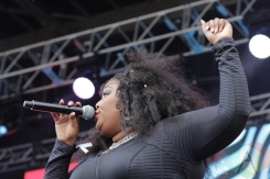 Lizzo performing at Soundset 2016 at the Minnesota State Fairgrounds in St. Paul on May 29, 2016. (Photo: Jeff Nelson/Aesthetic Magazine)
