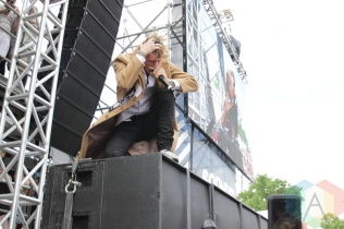 Machine Gun Kelly performing at Soundset 2016 at the Minnesota State Fairgrounds in St. Paul on May 29, 2016. (Photo: Jeff Nelson/Aesthetic Magazine)
