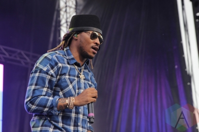 Future performing at Soundset 2016 at the Minnesota State Fairgrounds in St. Paul on May 29, 2016. (Photo: Jeff Nelson/Aesthetic Magazine)