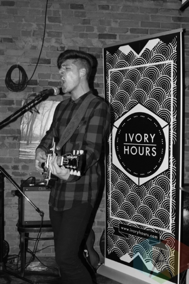 Ivory Hours performing at Homegrown Hamilton in Hamilton on April 30, 2016. (Photo: John-Michael Lelievre/Aesthetic Magazine)