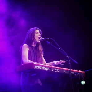 Julia Holter performing at Moogfest 2016 in Durham, North Carolina on May 19, 2016. (Photo: Eric Waters)