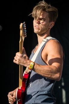 Kaleo performing at Sasquatch 2016 at the Gorge Amphitheatre in George, Washington on May 29, 2016. (Photo: Matthew Lamb)