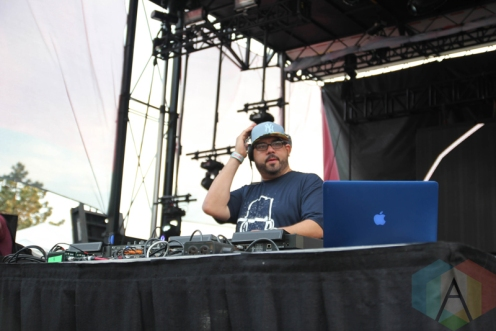 Kenny Dope performing at Movement Detroit 2016 at Hart Plaza in Detroit on May 28, 2016. (Photo: Jamie Limbright/Aesthetic Magazine)