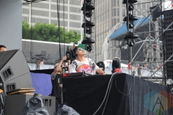 Kyle Hall performing at Movement Detroit 2016 at Hart Plaza in Detroit on May 28, 2016. (Photo: Jamie Limbright/Aesthetic Magazine)