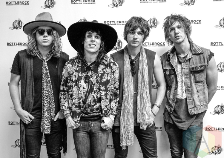 The Struts at BottleRock 2016 in Napa Valley, California on May 28, 2016. (Photo: Kari Terzino/Aesthetic Magazine)