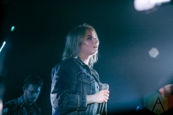 Lapsley performing at Lincoln Hall in Chicago on May 1, 2016. (Photo: Kris Cortes/Aesthetic Magazine)