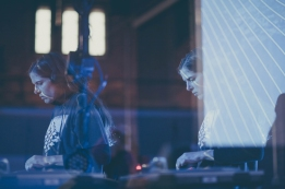 Laurel Halo performing at Moogfest 2016 in Durham, North Carolina on May 19, 2016. (Photo: Alex Kacha)