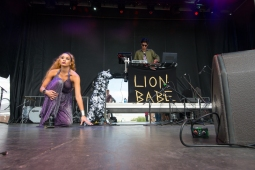 Lion Babe performing at Sasquatch 2016 at The Gorge Amphitheatre in George, Washington on May 27, 2016. (Photo: Matthew Lamb)