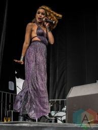 Lion Babe performing at Sasquatch 2016 at The Gorge Amphitheatre in George, Washington on May 27, 2016. (Photo: Kevin Tosh/Aesthetic Magazine)