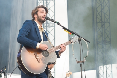 Lord Huron performing at Sasquatch 2016 at The Gorge Amphitheatre in George, Washington on May 28, 2016. (Photo: Matthew Lamb)