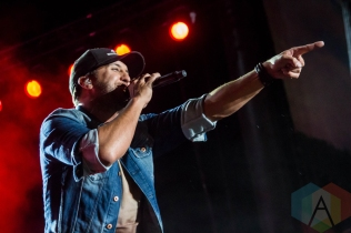 Luke Bryan performing on the Toyota Mane Stage at the Stagecoach Festival on May 1, 2016. (Photo: Meghan Lee/Aesthetic Magazine)