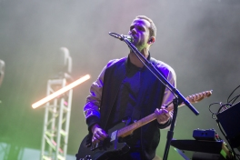 M83 performing at Sasquatch 2016 at The Gorge Amphitheatre in George, Washington on May 28, 2016. (Photo: Matthew Lamb)