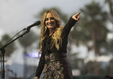 Lee Ann Womack performing on the Palomino Stage at the Stagecoach Festival on April 30, 2016. (Photo: Nate Watters/Goldenvoice)