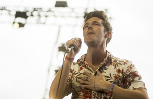 Sam Palladio performing on the Palomino Stage at the Stagecoach Festival on April 30, 2016. (Photo: Nate Watters/Goldenvoice)