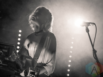 Nina Nesbitt performing at Scala in London, UK on May 5, 2016. (Photo: Paul Woods/Aesthetic Magazine)