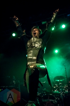 Gloryhammer performing at the O2 Forum Kentish Town in London, UK on May 22, 2016. (Photo: Rossi Ivanova/Aesthetic Magazine)