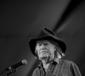 Billy Joe Shaver at Stagecoach Festival, in Indio, CA, USA, on 29 April, 2016.