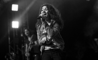 Alessia Cara performing at the Coachella Music Festival on April 24, 2016. (Photo: Koury Angelo/Goldenvoice)