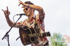 Sam Palladio performing on the Palomino Stage at the Stagecoach Festival on April 30, 2016. (Photo: Meghan Lee/Aesthetic Magazine)