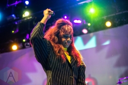 Santigold performing at the Vogue Theatre in Vancouver on May 12, 2016. (Photo: Carmin Edwards/Aesthetic Magazine)