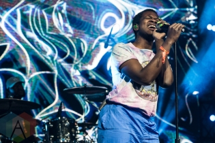 Shamir performing at Sasquatch 2016 at the Gorge Amphitheatre in George, Washington on May 29, 2016. (Photo: Kevin Tosh/Aesthetic Magazine)