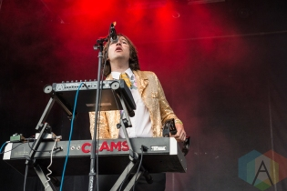 Shannon And The Clams performing at Sasquatch 2016 at The Gorge Amphitheatre in George, Washington on May 28, 2016. (Photo: Kevin Tosh/Aesthetic Magazine)