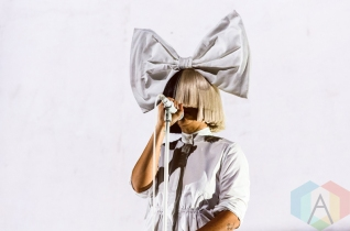 Sia performing at Boston Calling 2016 at Boston City Hall Plaza in Boston on May 27th. (Photo: Saidy Lopez/Aesthetic Magazine)