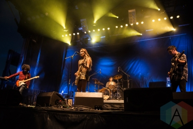 Speedy Ortiz performing at Sasquatch 2016 at the Gorge Amphitheatre in George, Washington on May 29, 2016. (Photo: Kevin Tosh/Aesthetic Magazine)