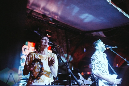 St. Lucia performing at The Great Escape Music Festival on May 21, 2016. (Photo: Caitlin Molton/Aesthetic Magazine)