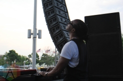 Stacy Pullen performing at Movement Detroit 2016 at Hart Plaza in Detroit on May 28, 2016. (Photo: Jamie Limbright/Aesthetic Magazine)