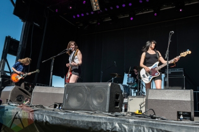 Summer Cannibals performing at Sasquatch 2016 at the Gorge Amphitheatre in George, Washington on May 29, 2016. (Photo: Kevin Tosh/Aesthetic Magazine)