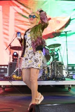 Tacocat performing at Sasquatch 2016 at the Gorge Amphitheatre in George, Washington on May 29, 2016. (Photo: Matthew Lamb)