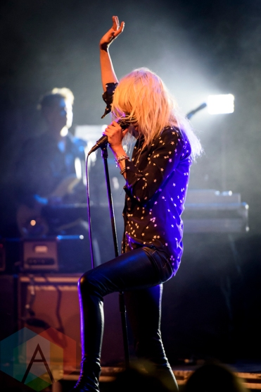 The Kills performing at the Danforth Music Hall in Toronto on May 21, 2016. (Photo: Angelo Marchini/Aesthetic Magazine)