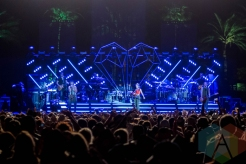 The Band Perry performing on the Toyota Mane Stage at the Stagecoach Festival on April 30, 2016. (Photo: Meghan Lee/Aesthetic Magazine)