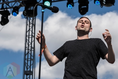 The Twilight Sad performing at Sasquatch 2016 at the Gorge Amphitheatre in George, Washington on May 29, 2016. (Photo: Kevin Tosh/Aesthetic Magazine)