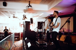Twin Wild performing at The Great Escape Music Festival on May 19, 2016. (Photo: Caitlin Molton/Aesthetic Magazine)