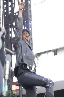 Danny Brown performing at Soundset 2016 at the Minnesota State Fairgrounds in St. Paul on May 29, 2016. (Photo: Jeff Nelson/Aesthetic Magazine)