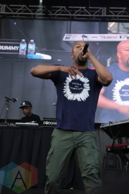 Common performing at Soundset 2016 at the Minnesota State Fairgrounds in St. Paul on May 29, 2016. (Photo: Jeff Nelson/Aesthetic Magazine)