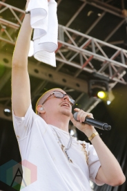 Prof performing at Soundset 2016 at the Minnesota State Fairgrounds in St. Paul on May 29, 2016. (Photo: Jeff Nelson/Aesthetic Magazine)