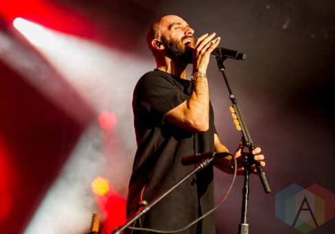 X Ambassadors performing at the iHeartRadio Fest in Toronto on May 6, 2016. (Photo: Orest Dorosh/Aesthetic Magazine)